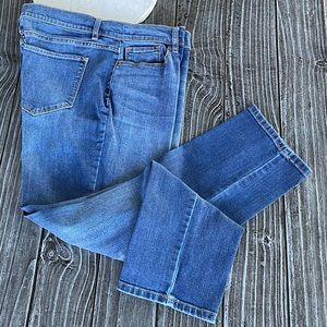 Plus Size High Raise Waist Boyfriend Skinny Jeans